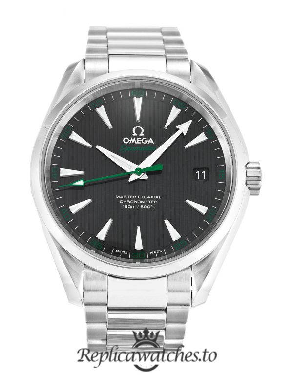 Omega Aqua Terra Replica 231.10.42.21.01.004 Black Dial 41.5MM