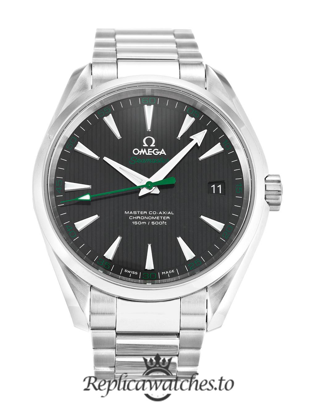 Omega Aqua Terra Replica 231.10.42.21.01.004 Black Dial 41.5MM