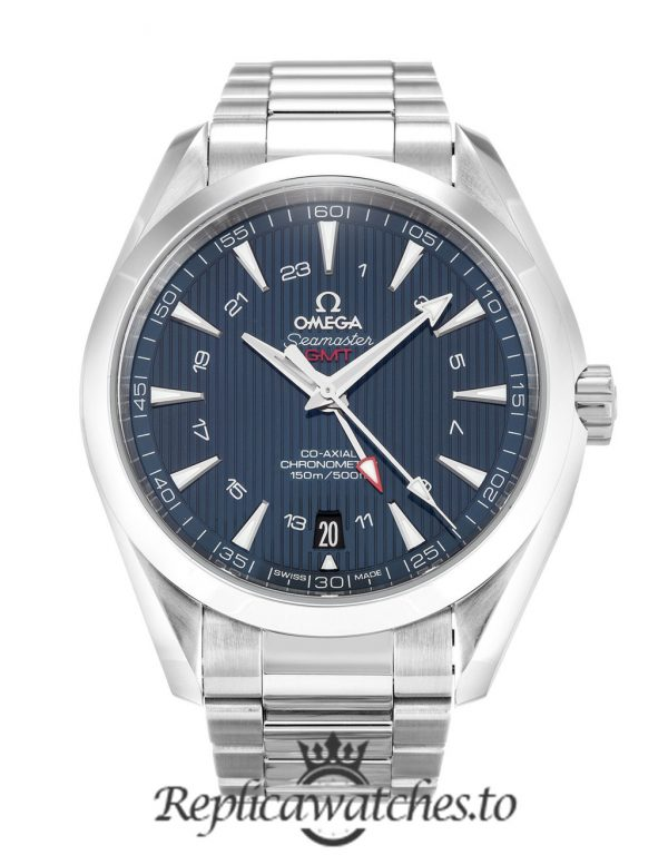 Omega Aqua Terra Replica 231.10.43.22.03.001 Blue Dial 43MM