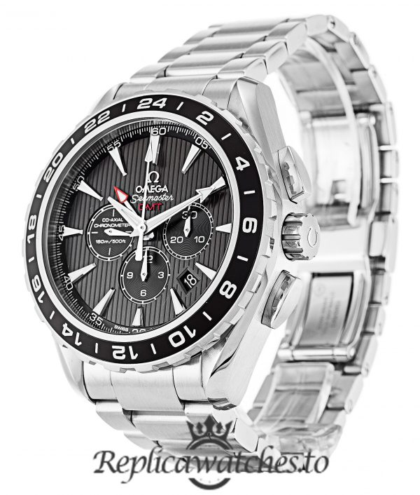 Omega Aqua Terra Replica 231.10.44.52.06.001 Black Dial 44MM