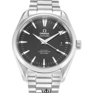 Omega Aqua Terra Replica 2503.50.00 Black Dial 39.2MM