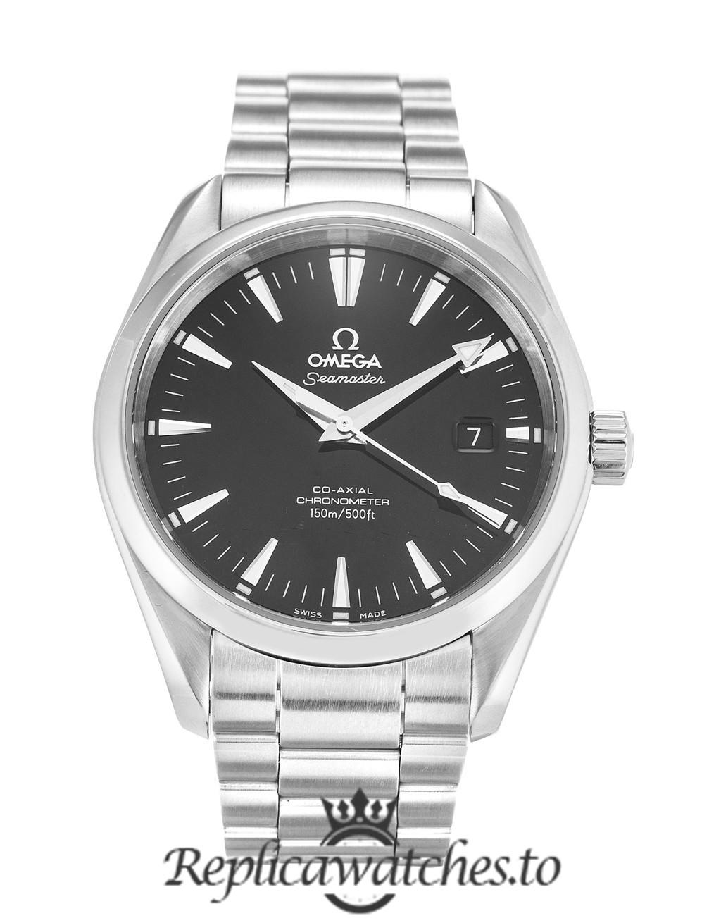 Omega Aqua Terra Replica 2503.50.00 Black Dial 39.2MM