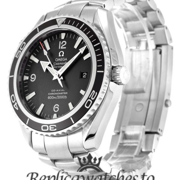 Omega Planet Ocean Replica 2200.50.00 Black Dial 45.5MM