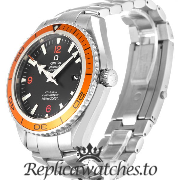 Omega Planet Ocean Replica 2208.50.00 Black Dial 45.5MM
