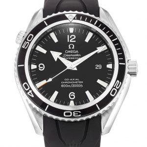 Omega Planet Ocean Replica 2900.50.91 Black Dial 45.5MM