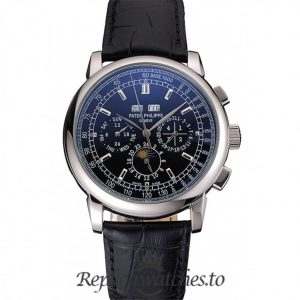 Patek Philippe Grand Complications Replica 05090005 Black Dial 41MM