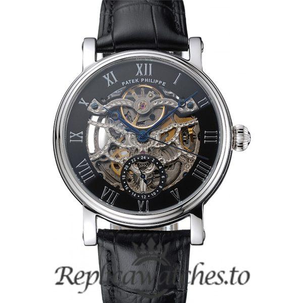Patek Philippe Grand Complications Replica 1453812 Black Dial 41MM