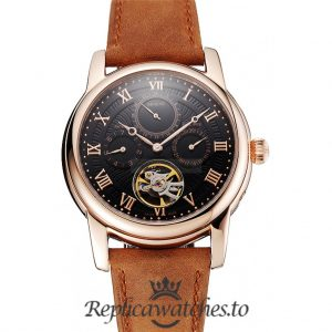 Patek Philippe Grand Complications Replica 1453814 Black Dial 41MM
