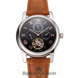 Patek Philippe Grand Complications Replica 1453815 Black Dial 41MM