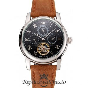 Patek Philippe Grand Complications Replica 1453816 Black Dial 41MM