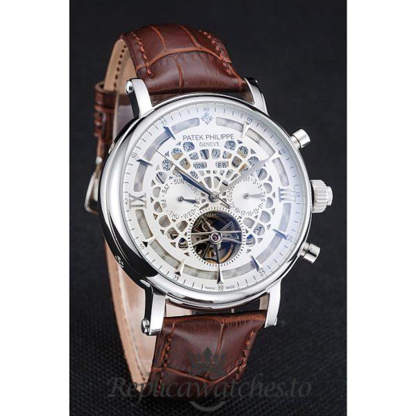 Patek Philippe Grand Complications Replica 1454233 White Dial 42MM