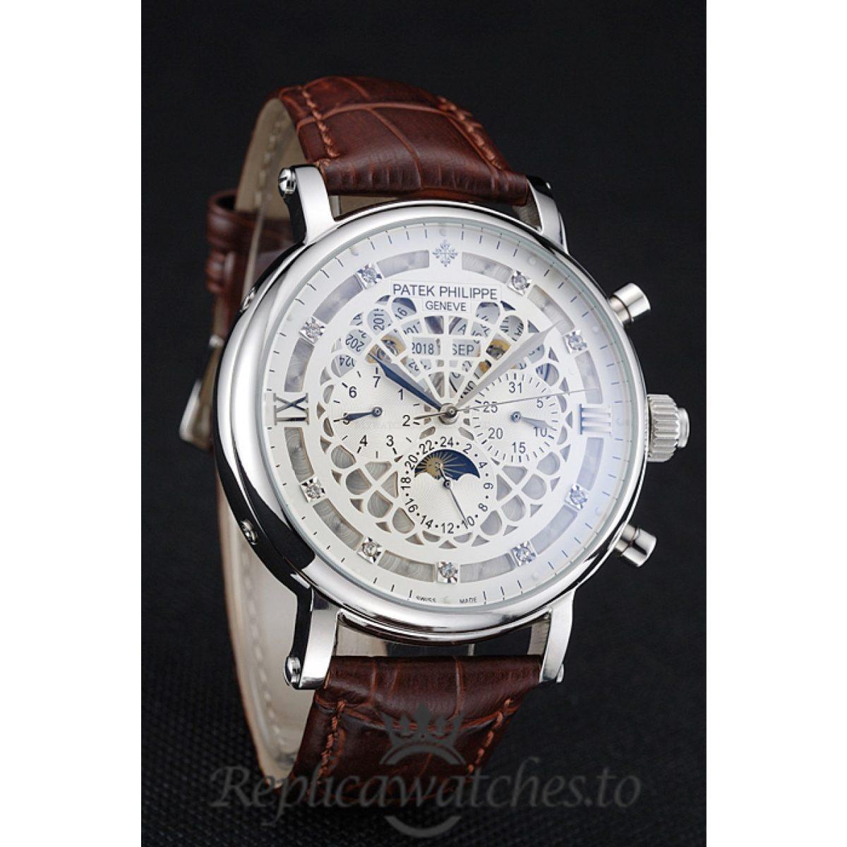 Patek Philippe Grand Complications Replica 1454234 White Dial 42MM