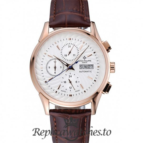 Patek Philippe Grand Complications Replica 1454239 White Dial 41MM