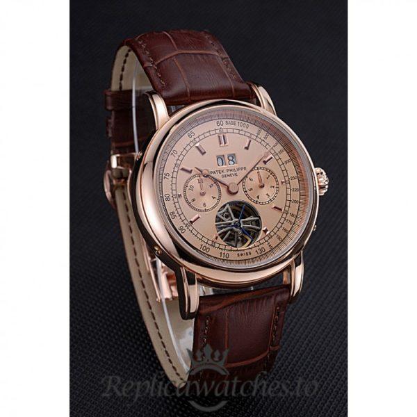 Patek Philippe Grand Complications Replica 622158 Rose Gold Dial 43MM