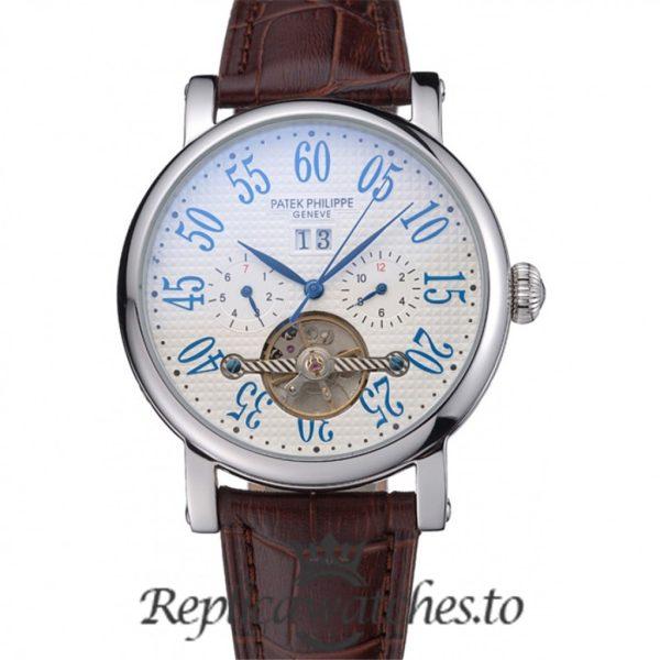Patek Philippe Grand Complications Replica 622257 White Dial 44MM