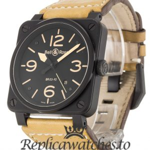 Bell And Ross Replica BR03-92-S Black Dial 42MM
