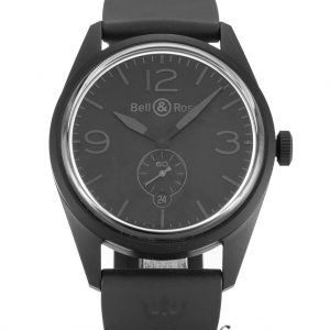 Bell And Ross Vintage 123 Replica Phantom Black Dial 40MM