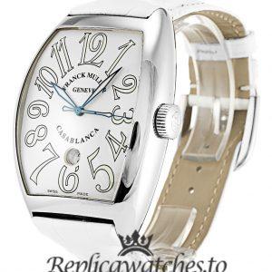 Franck Muller Casablanca Replica 8880 C DT White Arabic Dial 39MM