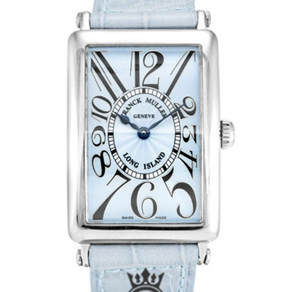 Franck Muller Long Island Replica 950 QZ Blue Arabic Dial 34MM