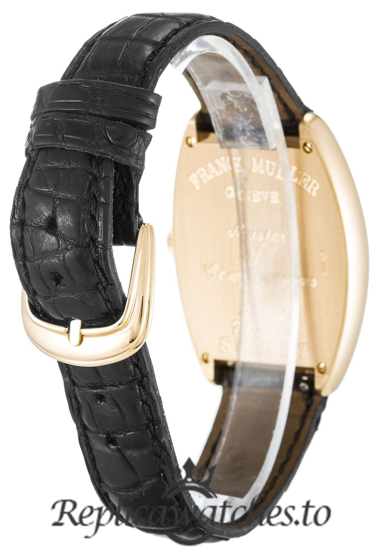 Franck Muller Sunset Replica 7502QZ Silver Arabic Dial 29.5MM