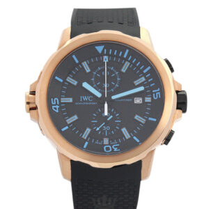 IWC Aquatimer Replica IW329001 Black And Blue Dial 42MM