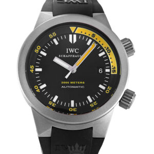 IWC Aquatimer Replica IW353804 Black Baton Dial 42MM