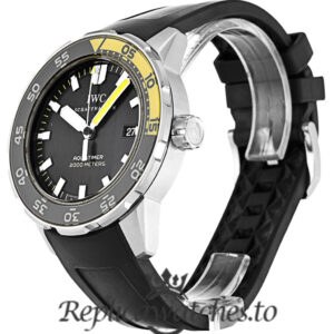 IWC Aquatimer Replica IW356802 Black Baton Dial 44MM