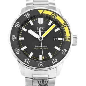 IWC Aquatimer Replica IW356808 Black Baton Dial 44MM