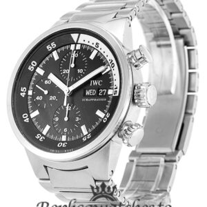 IWC Aquatimer Replica IW371928 Black Baton Dial 42MM