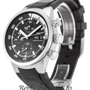 IWC Aquatimer Replica IW371933 Black Baton Dial 42MM
