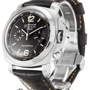 Panerai Luminor 1950 Replica PAM00212 Black Baton Dial 44MM