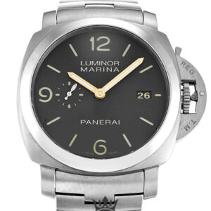 Panerai Luminor 1950 Replica PAM00352 Brown Quarter Arabic Dial 44MM