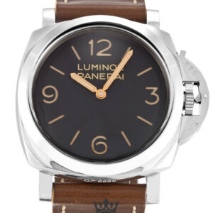 Panerai Luminor 1950 Replica PAM00372 Black Quarter Arabic Dial 47MM