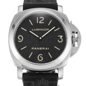 Panerai Luminor Base Replica PAM00002 001 Black Quarter Arabic Dial 44MM