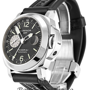 Panerai Luminor GMT Replica PAM00088 Black Baton Dial 44MM