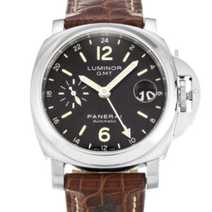 Panerai Luminor GMT Replica PAM00244 Black Baton Dial 40MM