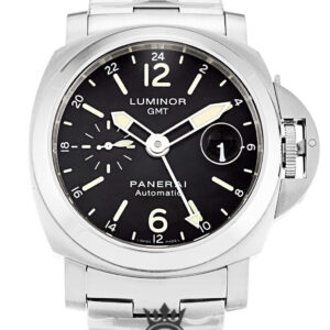 Panerai Luminor GMT Replica PAM00297 Black Baton Dial 44MM