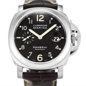 Panerai Luminor Marina Replica PAM00164 001 Black Arabic Dial 44MM