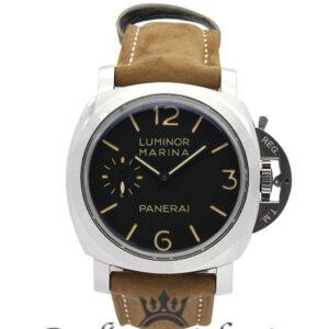 Panerai Luminor Marina Replica PAM00422 Black Quarter Arabic Dial 47MM