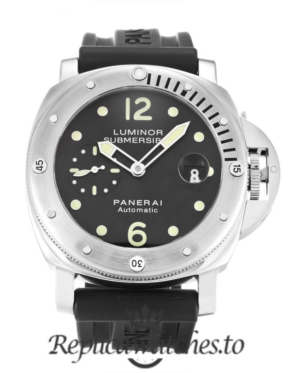 Panerai Luminor Submersible Replica PAM00024 Black Baton Dial 44MM