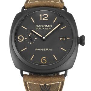 Panerai Radiomir Replica PAM00505 Brown Quarter Arabic Dial 45MM