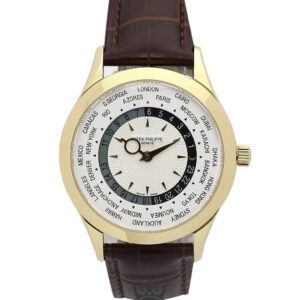 Patek Philippe Complicated Replica 5130J Beige Baton Dial 39MM