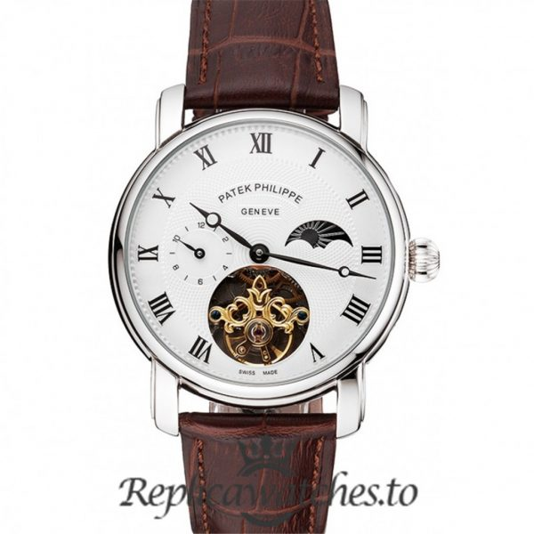 Patek Philippe Complications Replica White Dial 42MM