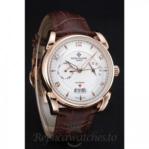 Patek Philippe Complications Replica 1454236 White Dial 40MM