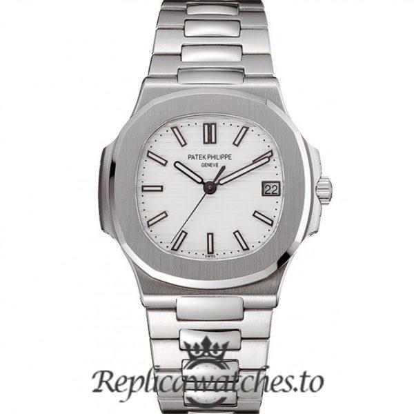Patek Philippe Nautilus Replica 1453946 White Dial 38MM