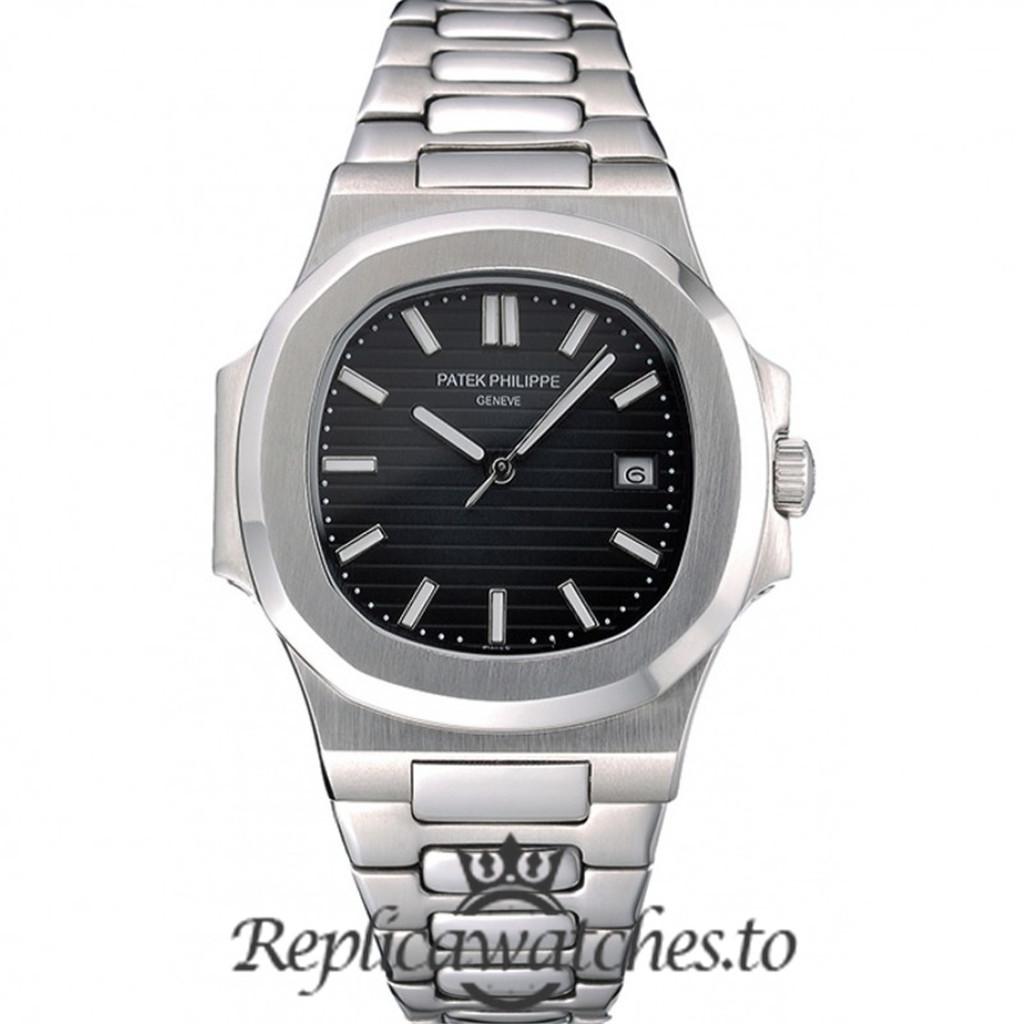 Patek Philippe Nautilus Replica 622719 Black Dial 39MM