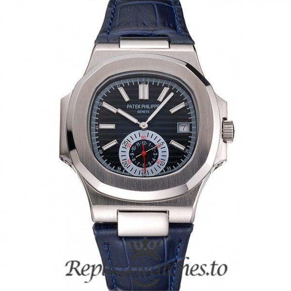 Patek Philippe Nautilus Replica PP225 Blue Dial 40MM