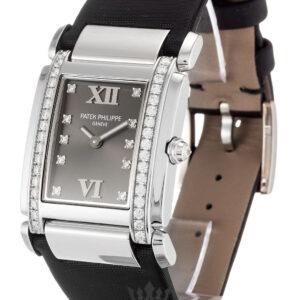 Patek Philippe Twenty-4 Replica 4920G Grey Diamond Dial 25MM