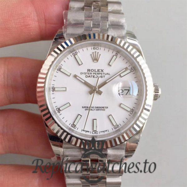 Swiss Rolex Datejust Replica 116200 005 Stainless Steel 410L Bracelet Automatic 41 mm