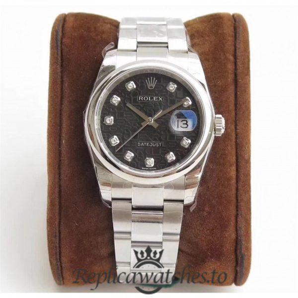Swiss Rolex Datejust Replica 116234 DJ Stainless Steel 904L Bracelet Automatic 36 mm